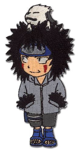 Naruto Sd Kiba Patch officially licensed product at B.A. Toys.