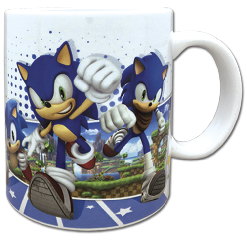 Sonic The Hedgehog - Sonic 25Th Anniversary Mug officially licensed Sonic Mugs & Tumblers product at B.A. Toys.