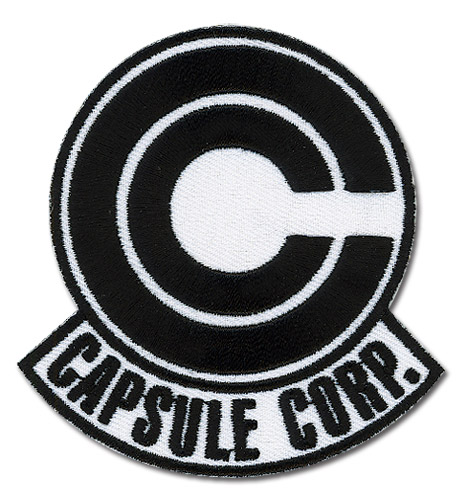Dragon Ball Z Capsule Corp. Patch, an officially licensed product in our Dragon Ball Z Patches department.