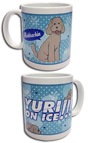 Yuri On Ice!!! - Makkachin Mug, an officially licensed product in our Yuri!!! On Ice Mugs & Tumblers department.