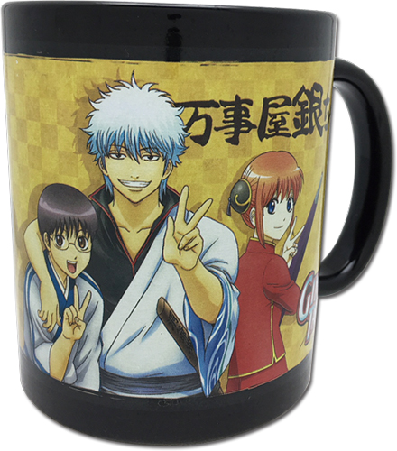 Gintama S3 - Group Mug officially licensed Gintama Mugs & Tumblers product at B.A. Toys.