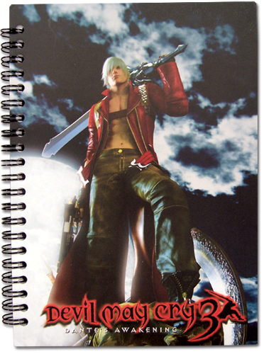 Devil May Cry Keyart Notebook, an officially licensed Devil May Cry product at B.A. Toys.