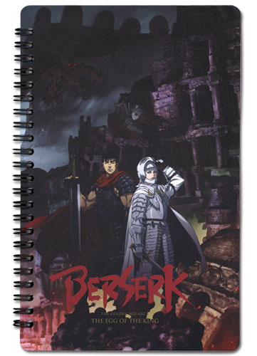Berserk Key Visual Notebook officially licensed Berserk Stationery product at B.A. Toys.