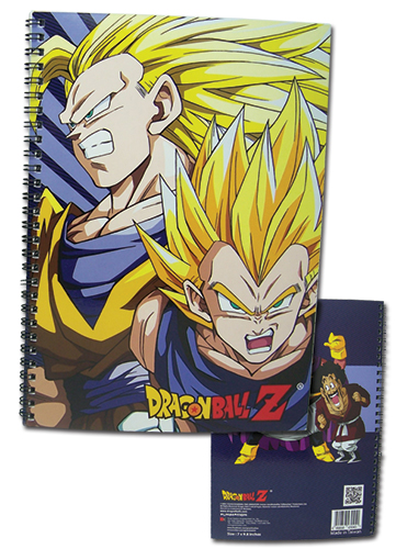 Dragon Ball Z Super Saiyan Group Spiral Notebook officially licensed Dragon Ball Z Stationery product at B.A. Toys.
