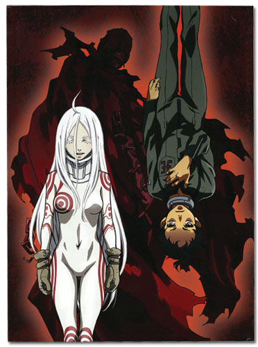 Deadman Wonderland Deadman Wonderland Glue Bound Notebook, an officially licensed Deadman Wonderland Stationery