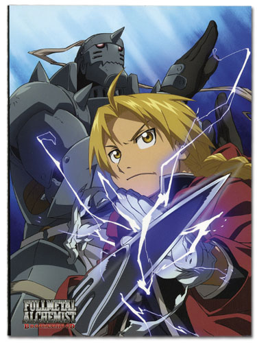 Fullmetal Alchemist Brotherhood Elric Brothers Glue Bound Notebook officially licensed product at B.A. Toys.