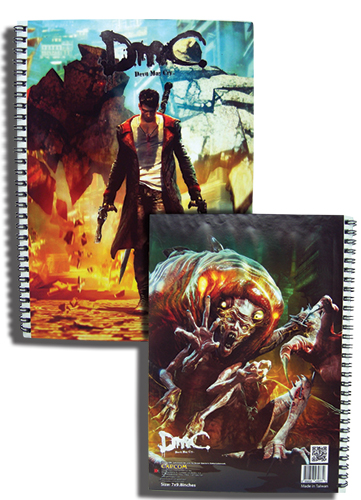 Devil May Cry Dante And Posion Spiral Notebook, an officially licensed Devil May Cry product at B.A. Toys.
