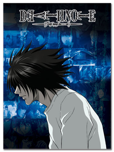 Death Note L Glue Bound Notebook officially licensed product at B.A. Toys.
