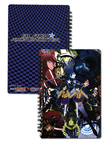 Black Rock Shooter Group Notebook, an officially licensed Black Rock Shooter product at B.A. Toys.