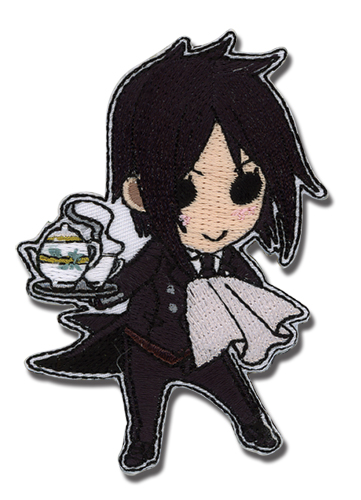 Black Butler Sebastian Sd Patch, an officially licensed Black Butler Patch