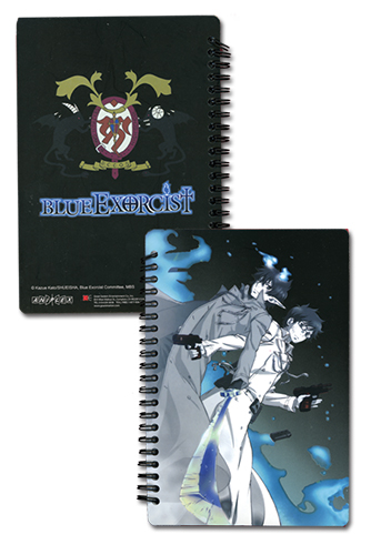 Blue Exorcist Paladin Sprial Notebook, an officially licensed Blue Exorcist product at B.A. Toys.