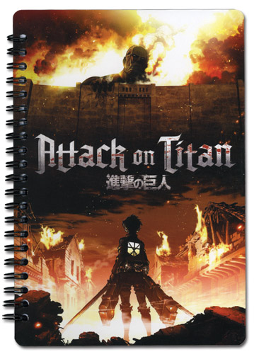 Attack On Titan - Aot Spiral Notebook officially licensed product at B.A. Toys.