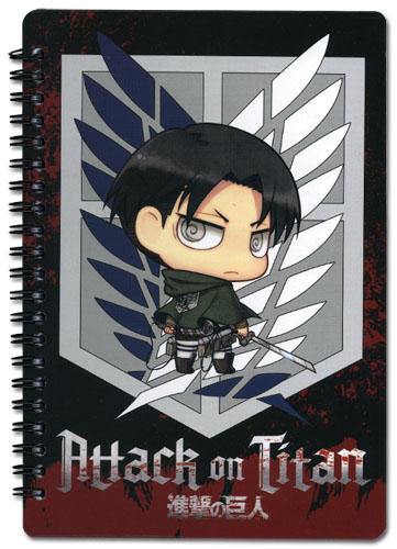 Attack On Titan - Scout Regiment Spiral Notebook, an officially licensed Attack on Titan Stationery