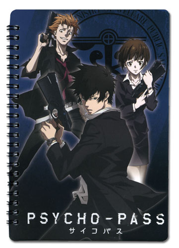 Psycho Pass - Public Safety Bureau Notebook officially licensed Psycho Pass Stationery product at B.A. Toys.