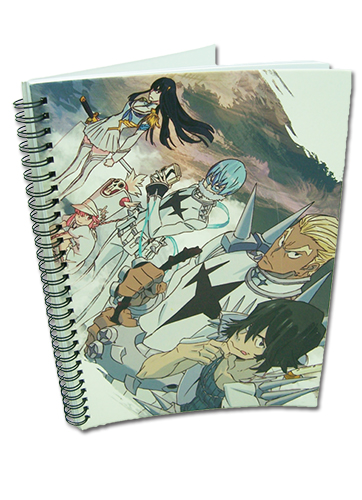 Kill La Kill - Council A4 Notebook officially licensed Kill La Kill Stationery product at B.A. Toys.