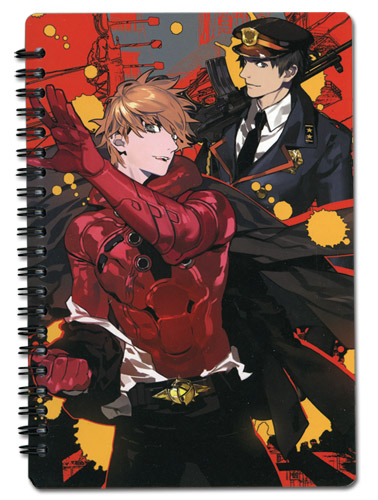 Samurai Flamenco - Spiral Notebook officially licensed Samurai Flamenco Stationery product at B.A. Toys.