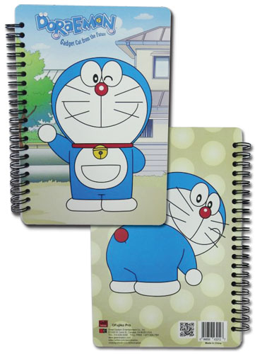 Doraemon - Doraemon Spiral Notebook officially licensed Doraemon Stationery product at B.A. Toys.