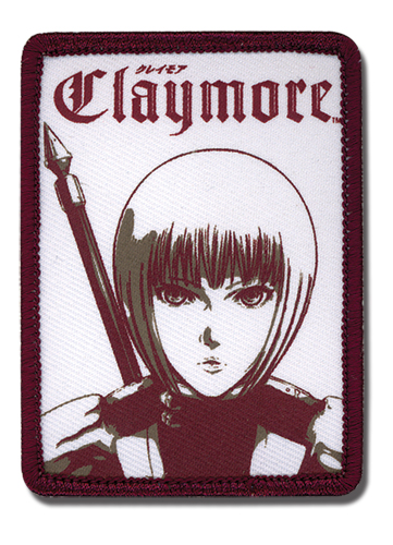 Claymore Clare Patch, an officially licensed Claymore Patch
