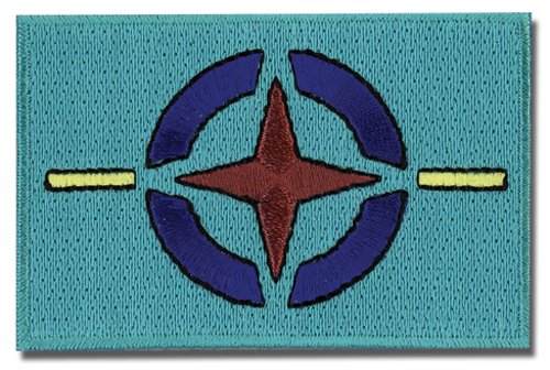 Gundam Aeu Flag Patch, an officially licensed product in our Everything Else Patches department.