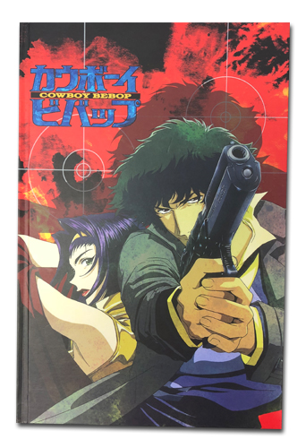 Cowboy Bebop - Spike & Faye Hardcover Notebook officially licensed Cowboy Bebop Stationery product at B.A. Toys.
