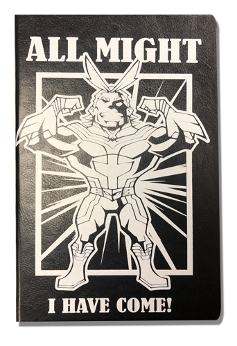 My Hero Academia - All Might Pu Cover Journal officially licensed My Hero Academia Stationery product at B.A. Toys.