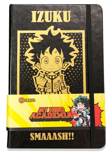My Hero Academia - Izuku Pu Cover Journal officially licensed My Hero Academia Stationery product at B.A. Toys.