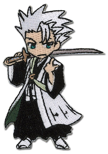Bleach Hitsugaya Sd Embroidered Patch, an officially licensed product in our Bleach Patches department.