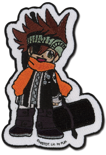D Gray Man Rabi Patch, an officially licensed D Gray Man Patch