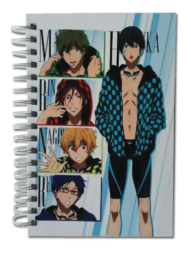 Free! - Group With Dot Clothes Hardcover Notebook officially licensed Free! Stationery product at B.A. Toys.
