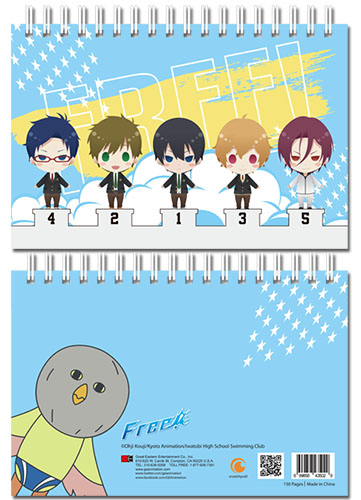 Free! - Group Sd Hardcover Notebook officially licensed Free! Stationery product at B.A. Toys.