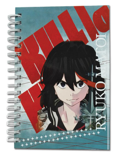 Kill La Kill - Ryuko Hardcover Notebook officially licensed Kill La Kill Stationery product at B.A. Toys.