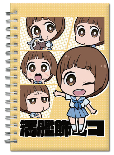 Kill La Kill - Mako Sd Hardcover Notebook officially licensed Kill La Kill Stationery product at B.A. Toys.