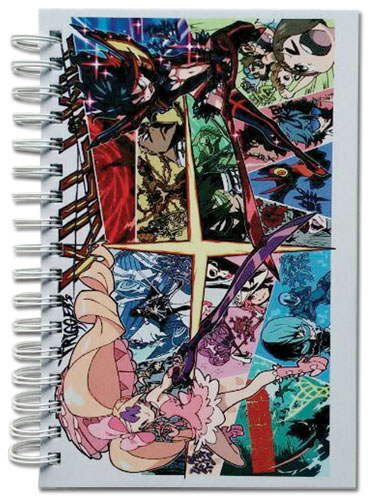 Kill La Kill - Group Manga Hardcover Notebook officially licensed Kill La Kill Stationery product at B.A. Toys.