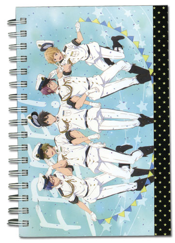 Free! - Group Navy Hardcover officially licensed Free! Stationery product at B.A. Toys.