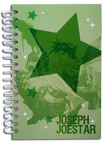 Jojo - Joseph & Caesar Hardcover Notebook officially licensed Jojo'S Bizarre Adventure Stationery product at B.A. Toys.