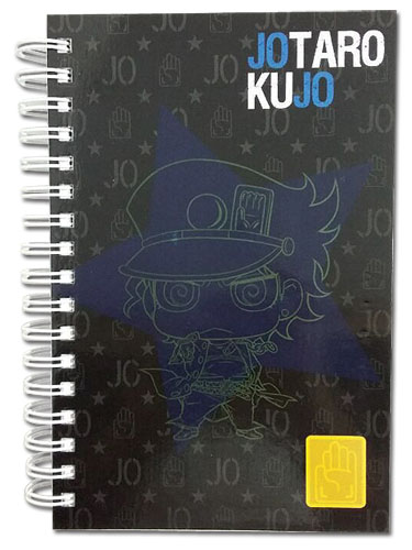 Jojo - Jotaro Style Hardcover Notebook officially licensed Jojo'S Bizarre Adventure Stationery product at B.A. Toys.