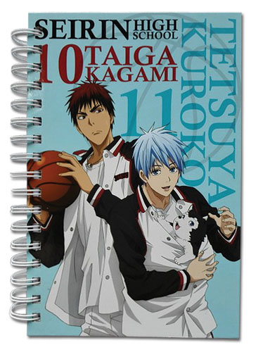 Kuroko's Basketball - Kuroko & Kagami Tetsuya #2 Hardcover Notebook, an officially licensed product in our Kuroko'S Basketball Stationery department.