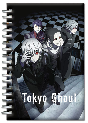 Tokyo Ghoul - Group Hardcover Notebook officially licensed Tokyo Ghoul Stationery product at B.A. Toys.