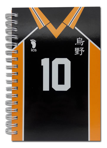 Haikyu!! - Number 10 Team Uniform Hardcover Notebook officially licensed Haikyu!! Stationery product at B.A. Toys.