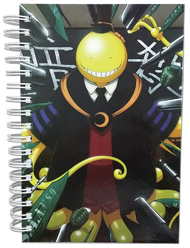 Assassination Classroom - Koro Notebook, an officially licensed product in our Assassination Classroom Stationery department.