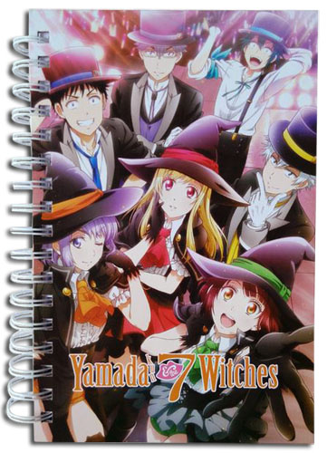 Yamada Kun And The Seven Witches - Group Notebook officially licensed Yamada-Kun And The Seven Witches Stationery product at B.A. Toys.