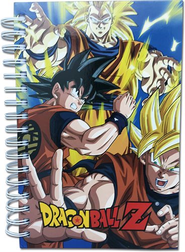 Dragon Ball Z - Super Saiyan Gokus Hardcover Notebook officially licensed Dragon Ball Z Stationery product at B.A. Toys.