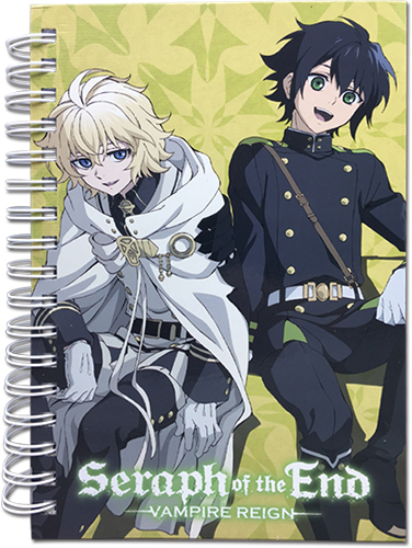 Seraph Of The End - Group Sitting We officially licensed Seraph Of The End Stationery product at B.A. Toys.