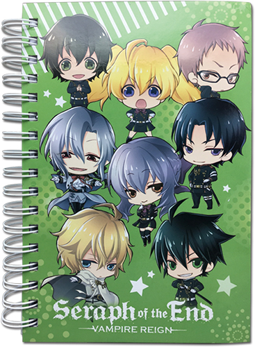 Seraph Of The End - Sd Group Notebook officially licensed Seraph Of The End Stationery product at B.A. Toys.