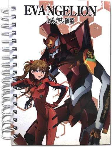Evangelion - Eva 2 Notebook, an officially licensed product in our Evangelion Stationery department.