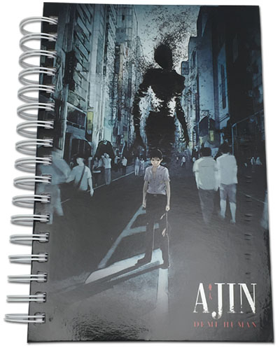 Ajin - Kei & Ibm Notebook officially licensed Ajin Stationery product at B.A. Toys.