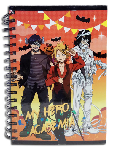 My Hero Academia - Group Halloween Notebook officially licensed My Hero Academia Stationery product at B.A. Toys.
