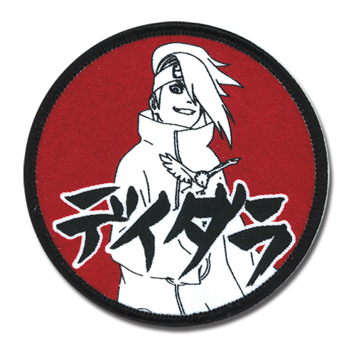 Naruto Shippuden Deidara & Name Patch, an officially licensed product in our Naruto Shippuden Patches department.