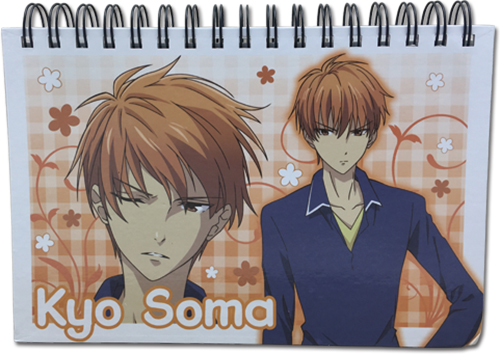 Fruits Basket 2019 - Kyo Notebook, an officially licensed product in our Fruits Basket Stationery department.