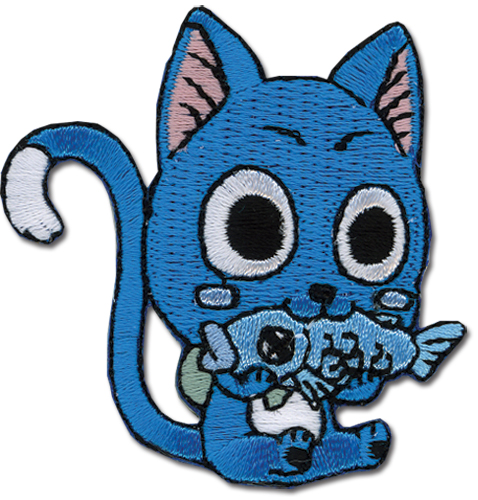 Fairy Tail Happy Patch, an officially licensed product in our Fairy Tail Patches department.
